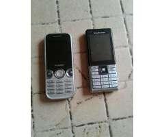 2 Celulares Sony Y Huawei