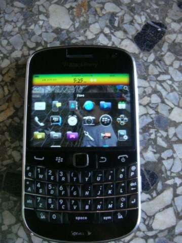 Blackberry 9900  pantalla tactil