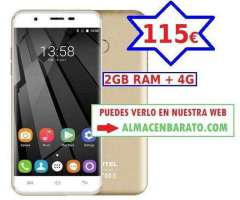 U7 PLUS II 5.5  CON 2GB RAM Y 4G 13 Mpix
