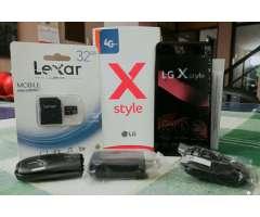 Lg X Style Nuevo Más M de 32 Gb Clase 10