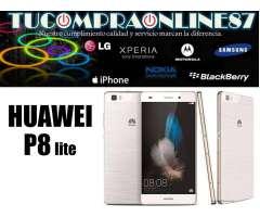 Huawei P8 Lite 4G 13Mpx 5Frontal 16GB Nuevos Libres Factura Y Garantia.TUCOMPRAONLINE87.