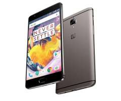 OnePlus 3T, Negro, 64GB, 6GB Ram. Nuevo, 295 Mil