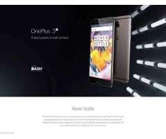 Oneplus 3t Dual 64gb 4GLTE SELLADOS STOCK EN LIMA COLOR GRIS LIBRE DE FABRICA VERSION AMERICANA