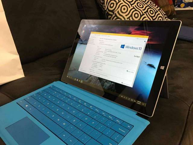 Microsoft Surface Pro 3. 12,3'' 512 GB Intel Core i7 8Gb ram
