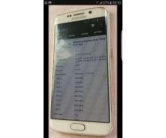 Samsung S6 Edge 64gb Libre Astillado