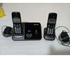 Telèfono Panasonic Dos Lineas 2 Auricula