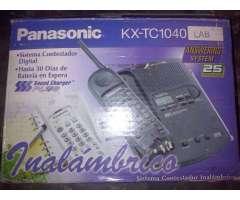 Telefono Inalambrico Panasonic Contestadora 30 Dias De Bateria