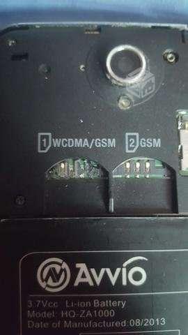 Celular Avvio 790s pantalla quebrada, Región Metropolitana