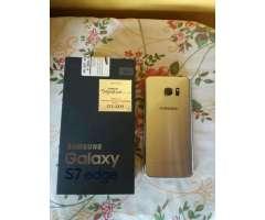Vendo Samsung Galaxy S7 Edge Color Silve
