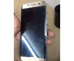Samsung S7 Egde Dorado Nuevo D Caja