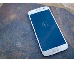 Samsung S7 USO 5 MESES, buen estado,color plata, Región Metropolitana