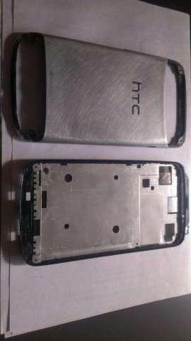 HTC ONE S, VENDO CARCAZA LIJADA METALIZADA, EN BUENAS CONDICIONES.