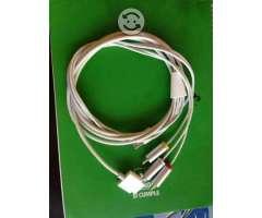 Cable audio video para iphone o ipad