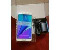 Samsung Galaxy Note 5 Blanca Semi Nueva