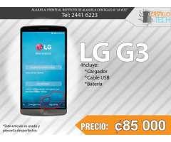 LG G3 Negro 4G