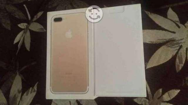 V/C  iphone 7 plus Gold nuevo (detalle)