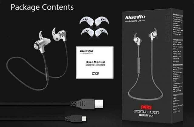 Audífonos Bluetooth Sport Bluedio Ci3