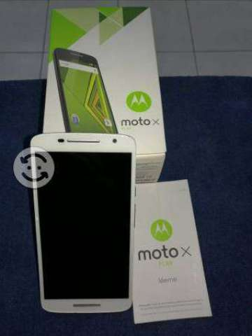 Moto x play 21mp 16gb garantia p. Cambio