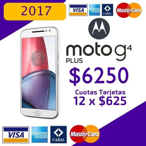 Nuevo!!!! MOTO G4 PLUS TARJETAS DE CREDITO !!!!!!&