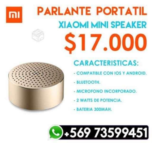 Parlante - Altavoz Xiaomi Mini Dorado, XIV Los Ríos