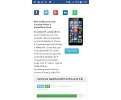 Vendo Nokia Lumia 640xl