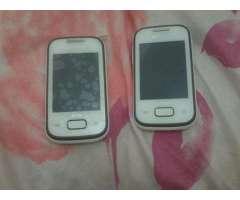 2 Samsungs poket