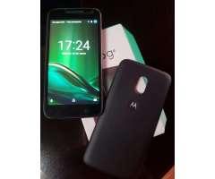Vendo Moto G4 Play Hermoso