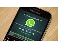 Activacion de Whatsapp para blackberry