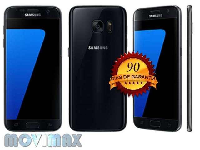 Samsung Galaxy S7 Edge 32Gb Negro Liberado Garantia Envio