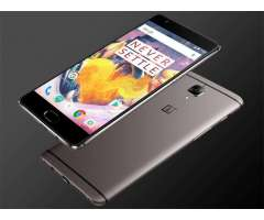 OnePlus 3T Gunmetal 128 GB Nuevo en caja sellada stock disponible!