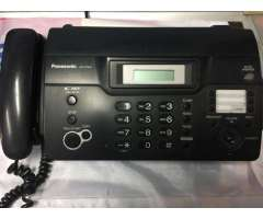 Telefonos Faxes Panasonic, en perfecto estado.