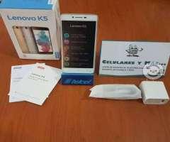 Lenovo K5 nuevos y garantizados