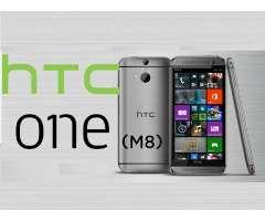 CACHADA $130 NEG. HTC ONE M8 VERSION WINDOWS LIBERADO. 9 DE 10 A TODA PRUEBA, 2 GB DE RAM Y 20