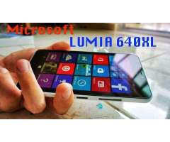 Microsoft lumia 640 XL.Pantalla 5.7