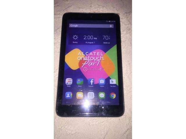 Vendo Tablet Alcatel Es para Chip