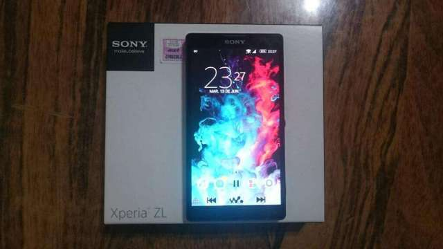 Sony Xperia Zl impecable