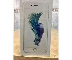iPhone 6S 64 Gb, Nuevo, sellado de paquete, color plata.