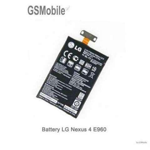 Batería LG Nexus 4 E960 BL T5