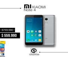 Xiaomi Redmi note 4 32gb 4g Lte,GRATIS Vidrio templado,Nuevo,Libre,Factura, sellados, originales