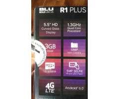 Blu R1 Plus 3gb de Ram Doble Flash
