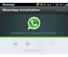 se activa whastapp a cualquier blackberry