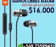Audifonos - Manos Libres Xiaomi Mi Capsule, XIV Los Ríos