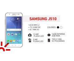 SAMSUNG J510 16 GB 4G LTE PLAN CONEXIÓN SIN LIMITE 25