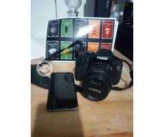 IPhone y cámara canon T3i