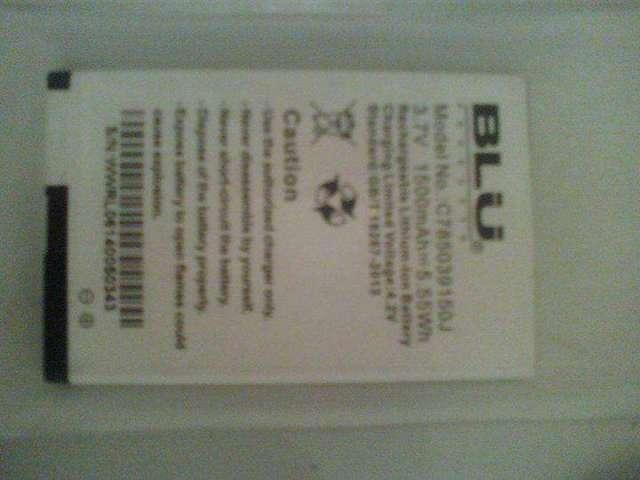 vendo bateria de blu dash 4.0