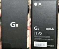 Lg G6 LIBRES y NUEVOS en CAJA