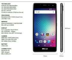 Blu R1 16 Hd Android 6.0 Quadcore 16gb