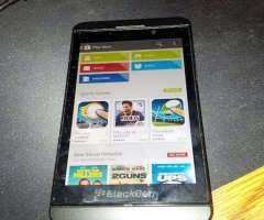 Blackberry Z10 con Play Store Android 4g