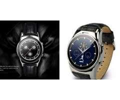 Reloj Smartwach Bluetooth Chip Sd Cuero