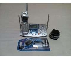 Telefono Inalámbrico Y Diadema Panasonic